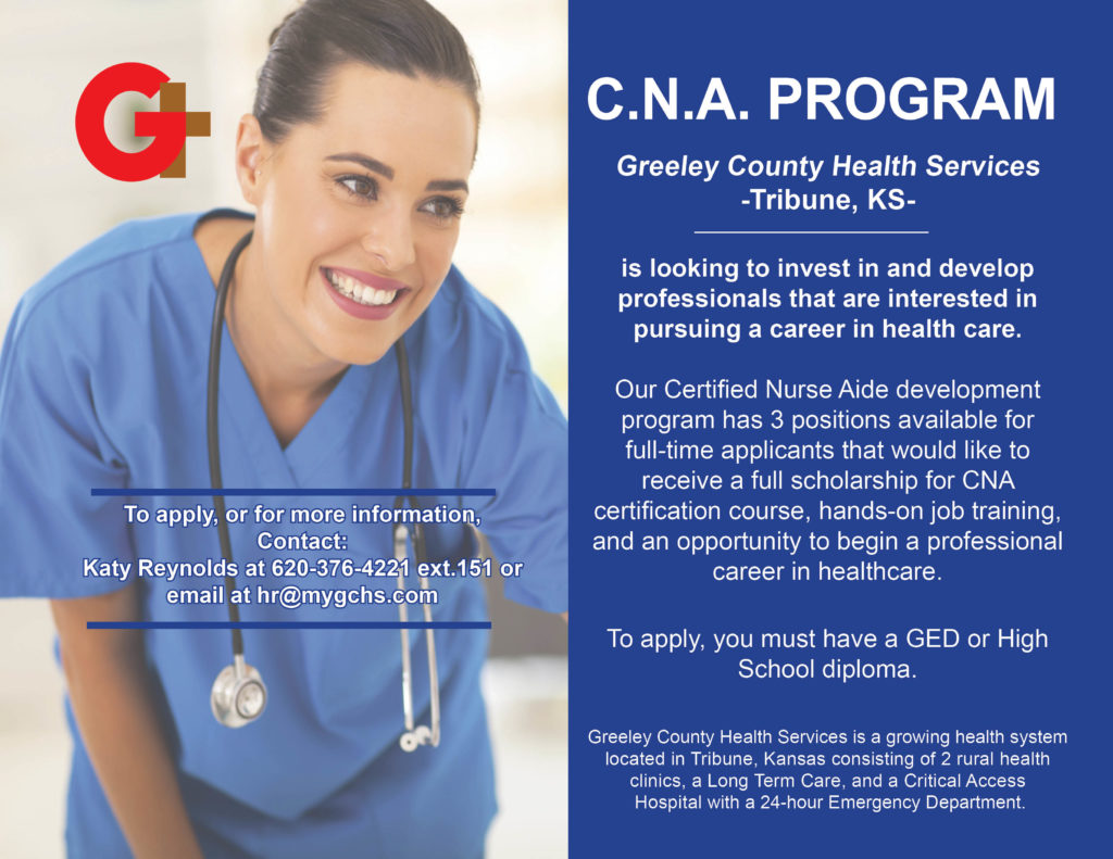 Cna Program Greeley County Health Services