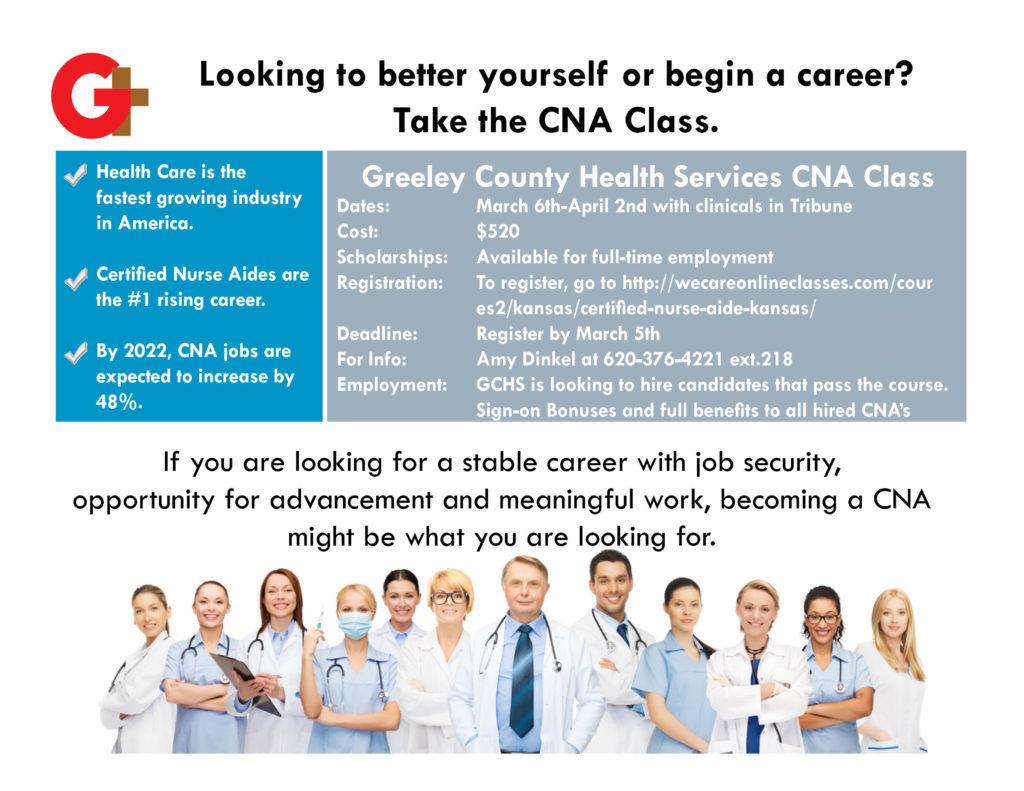Cna Class Greeley County Health Services